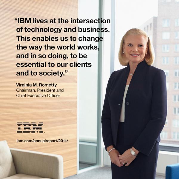 Ginni Rometty CEO IBM